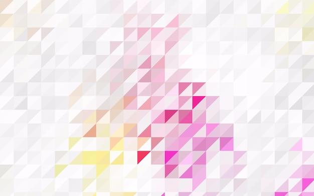 Piccoli triangoli su sfondo bianco