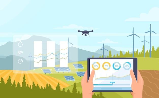 Tecnologia di innovazione dell'agricoltura intelligente