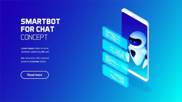 Bot intelligente per l'illustrazione della chat