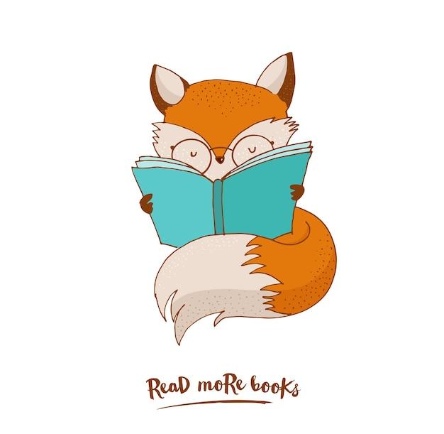 Libro di lettura intelligente di fox
