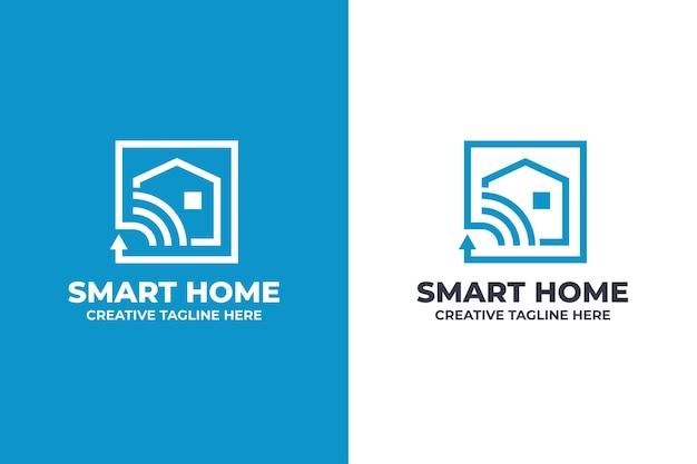Logo aziendale di elettrodomestici intelligenti