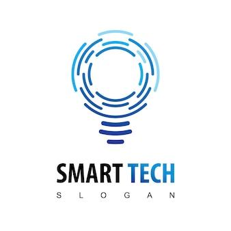 Logo della tecnologia intelligente