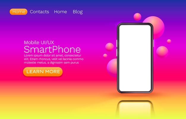 Schermo mobile per smartphone, luce display mobile con tecnologia.