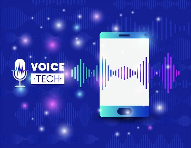 Smartphone con tecnologia di riconoscimento vocale