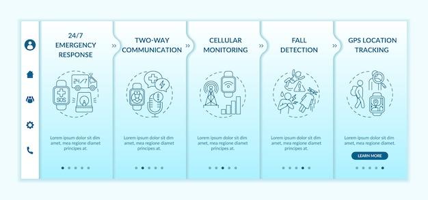 Modello di onboarding delle funzionalità sanitarie di smartwatch