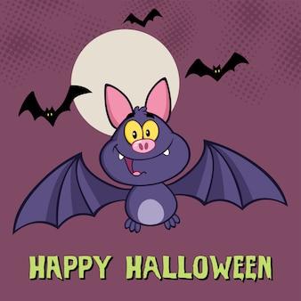 Pipistrello vampiro sorridente