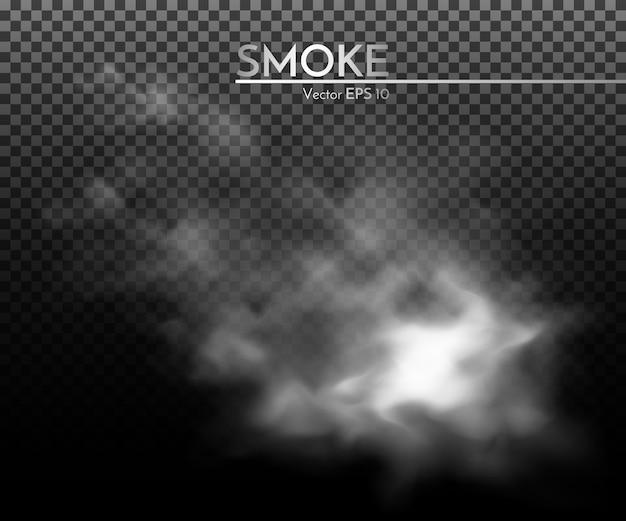 Illustrazione della nuvola di nebbia di fumo