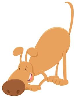 Personaggio dei cartoni animati cane sniffing