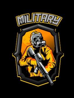 Illustrarion soldato cecchino