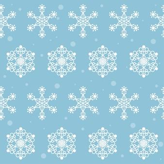 Neve inverno fiocco di neve tessuto tessile capodanno o campione di natale senza cuciture sfondo