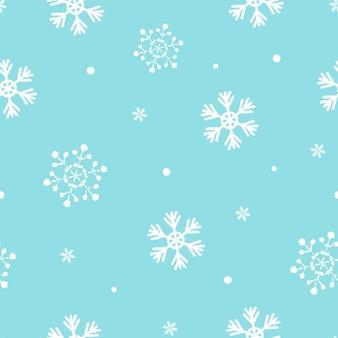 Priorità bassa di disegno del modello del fiocco di neve
