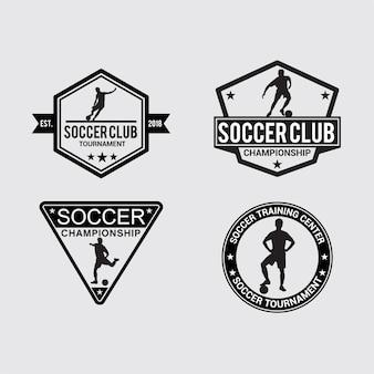 Badge e adesivi soccer