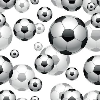 Fondo senza cuciture dei palloni da calcio
