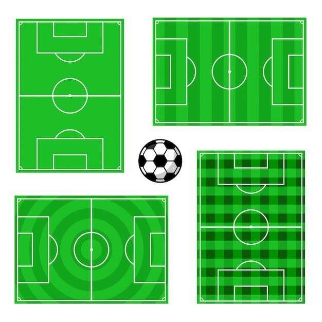 Disegni di campi da calcio