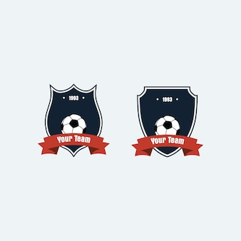 Logo football club logo badge per la tua squadra
