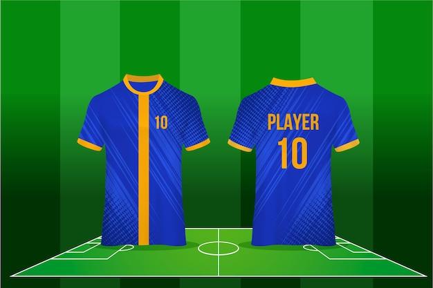 Design della maglia da calcio