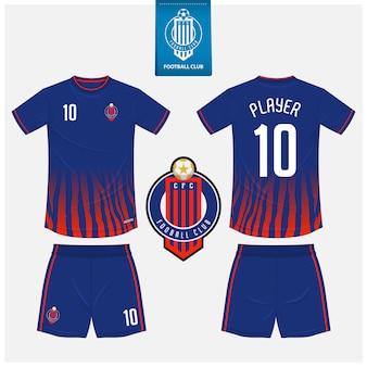 Design modello maglia calcio o kit calcio.