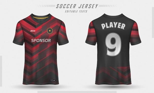 T-shirt sportiva da calcio modello jersey
