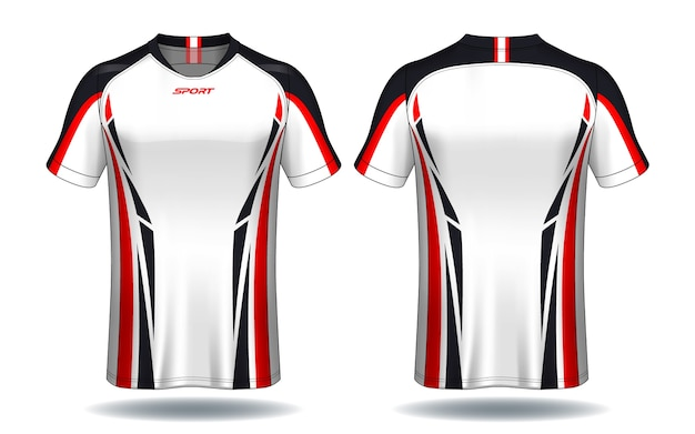 T-shirt da calcio jersey modello.sport.