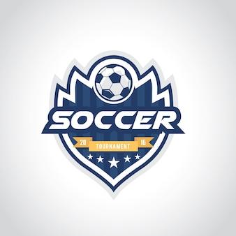 Logo di calcio, logo di calcio, logo della squadra sportiva, vectortemplate