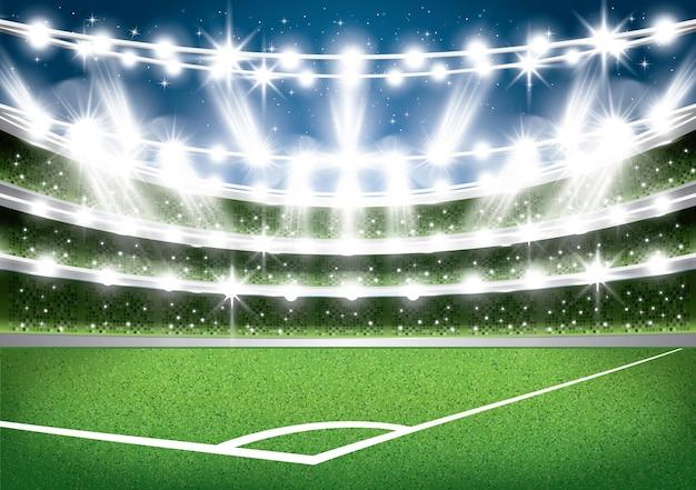 Stadio di calcio. arena di calcio.