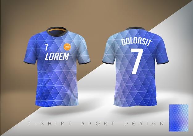 T-shirt da calcio slim fit con girocollo.