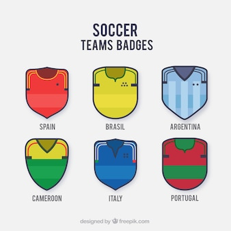Calcio badges