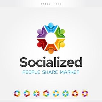 Logo del cerchio sociale