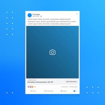 Annunci sui social media