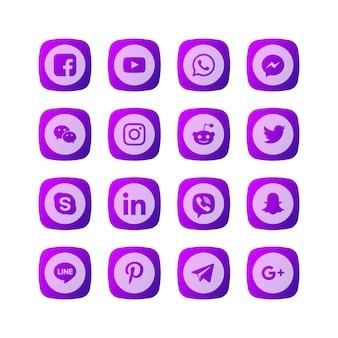 Icona dei social media
