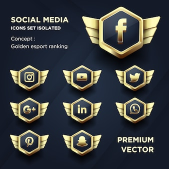Le icone dei social media hanno impostato la classifica dorata dell'esport isolata