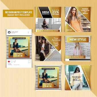 Modelli di post sui social media