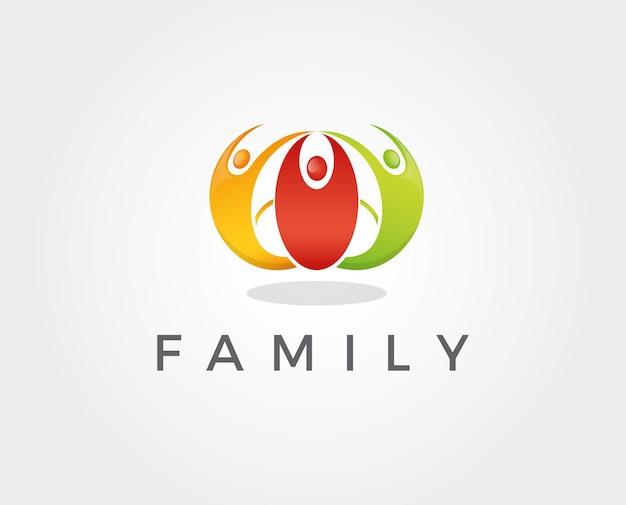 Modello di logo di social network