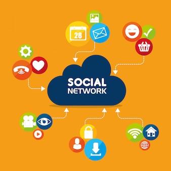 Social network e media