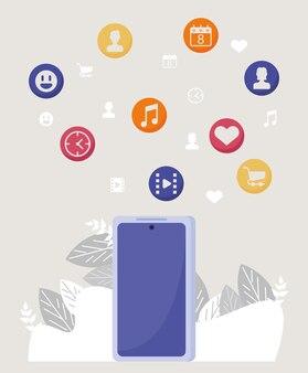 Social network nello smartphone