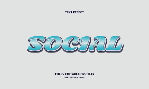Effetto testo sociale