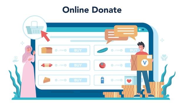 Servizio o piattaforma online di volontariato sociale