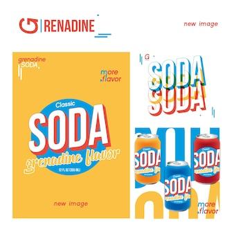 Soda Vettore Premium