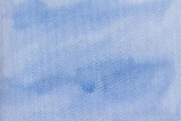 Trama di sfondo acquerello blu morbido