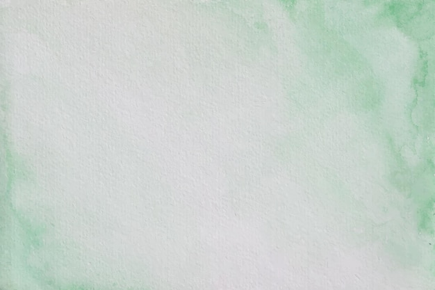 Sfondo acquerello pastello verde morbido