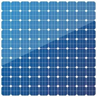 Struttura del pannello della batteria solare. moderno concetto di energia alternativa eco. modello.