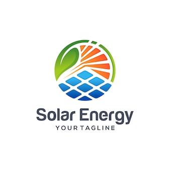 Logo dell'energia solare