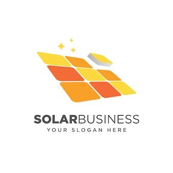 Concetto di progetto di tecnologia del pannello solare