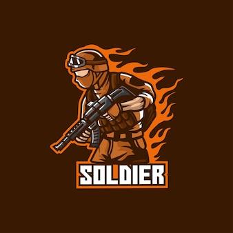 Soldato, esercito, militare, uniforme, uomo, americano, patriottico, patriottismo, veterano, guerra, protezione, servizio