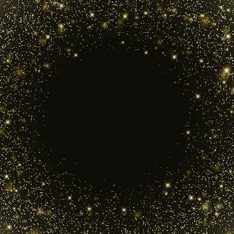 Sfondo galassia spaziale con stelle modello per la progettazione