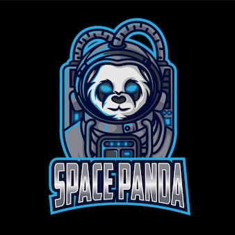 Logo space panda esport