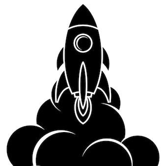 Logotipo di space shuttle space logo