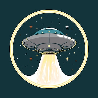 Illustrazione della nave spaziale