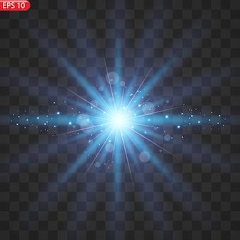 Scintillanti particelle di polvere magica