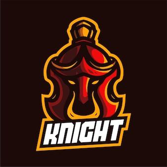 Logo della mascotte di sparta